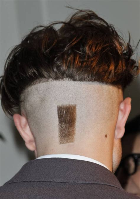 landing strip hair images robert pattinson new hairstyle r patz weird new cut looks