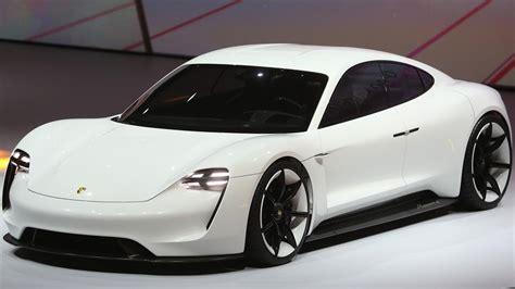 porsche concept cars porsche set to electrify the future