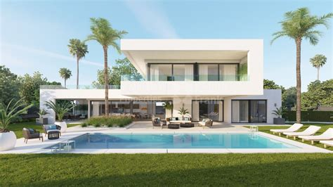 casas chalets villas y chalets de lujo en venta en nueva andalucia