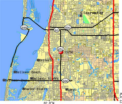 zip code map clearwater fl clearwater fl zip code map my blog
