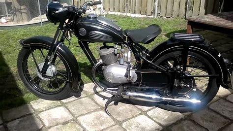 Motorrad Oldtimer Zündapp Norma 200 by Durkopp Md 200 1952 Youtube