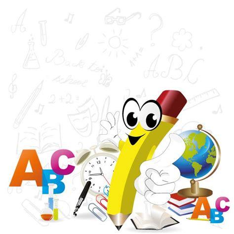 imagenes escolares en vectores caricatura de un l 225 piz escolar vector de un l 225 piz