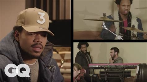 inside the studio with chance the rapper gq