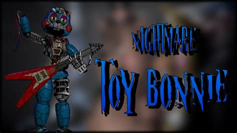 speededit nightmare withered toy bonnie youtube