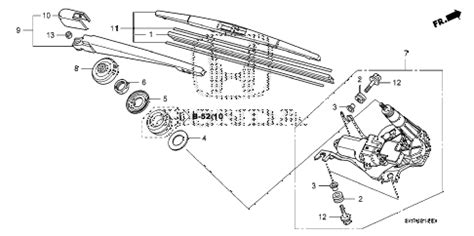 service manuals schematics 2009 honda odyssey windshield wipe control 2009 honda cr v windshield washer diagram honda auto wiring diagram