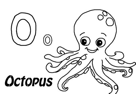 Coloring Page Octopus by Octopus Color Page Az Coloring Pages