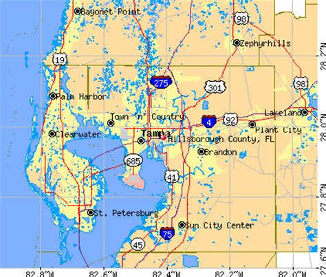 zip code map ta hillsborough county hillsborough county news weather maps history and events