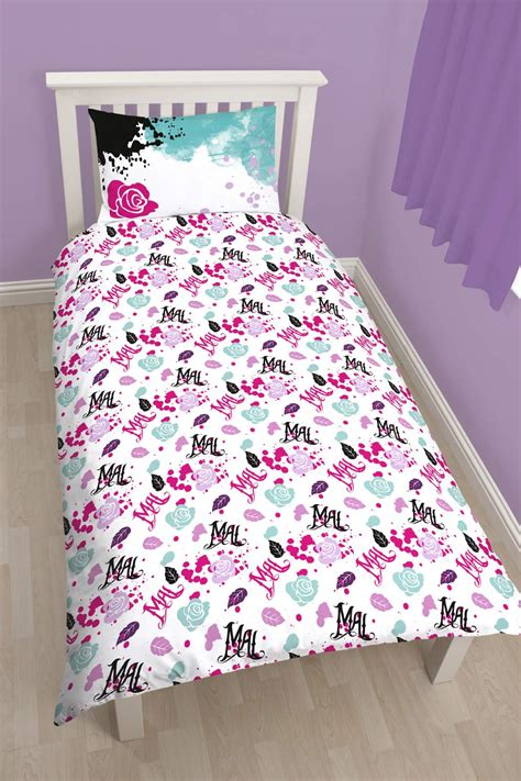 Winnie The Pooh Duvet Set New Disney Descendants Villains Single Duvet Quilt Cover