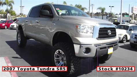 Used Toyota Tundra San Diego 2007 Used Toyota Tundra Sr5 For Sale In San Diego At