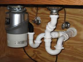 Plumbing A Kitchen Sink With Disposal Garbage Disposal Plumbing