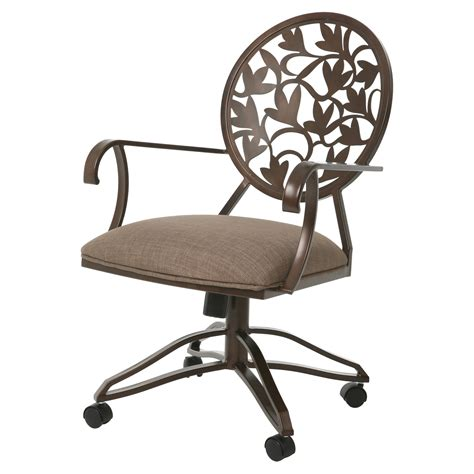 impacterra brownsville arm chair with casters dining