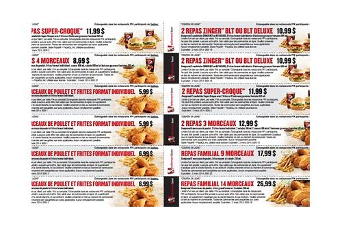 coupon rabais restaurant ville de quebec