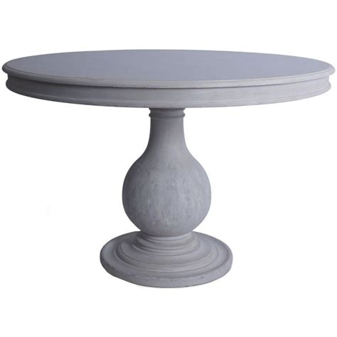 shabby chic pedestal table 47 best pedestal dining tables images on