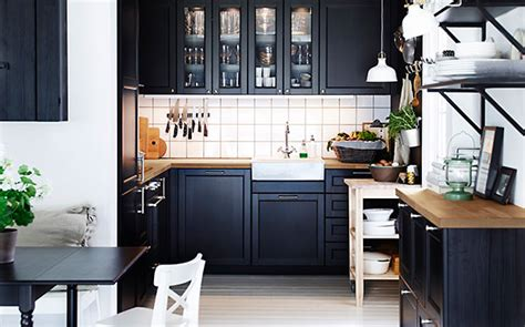 kitchen design ideas an ikea kitchen with fewer wall cabinets ikea kitchens which