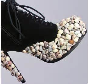 modernsauce she sheds seashells by the she shore sally seashell booties by haus of price gt shoeperwoman