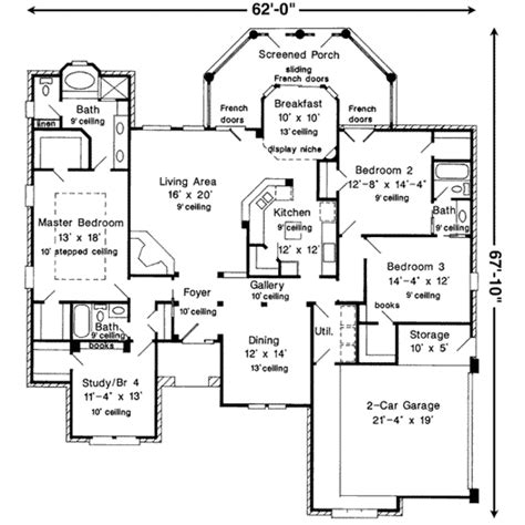 european style floor plans european style house plan 3 beds 3 baths 2361 sq ft plan