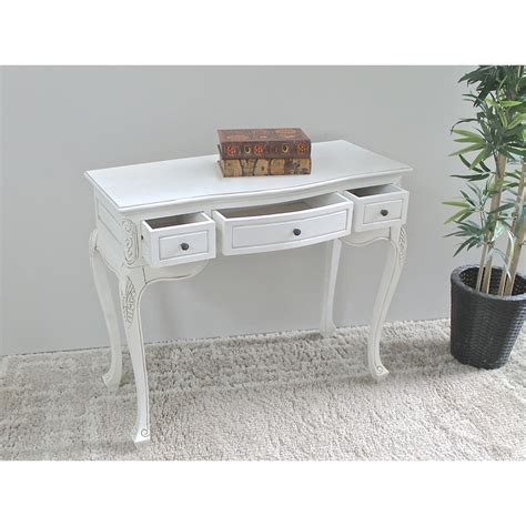 antique white vanity table antique white vanity table 3 drawers dcg stores