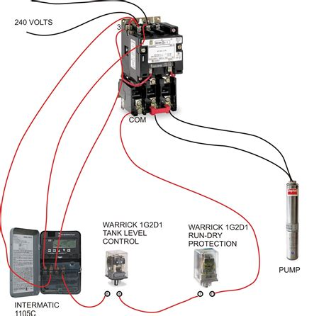wiring diagram for well pressure switch wiring