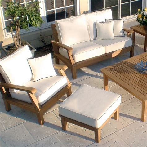 Patio Furniture Stores Miami Miami Teak White By Royal Teak Collection Patio