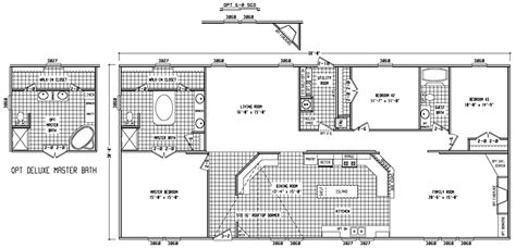 cavco manufactured and mobile homes floor plans