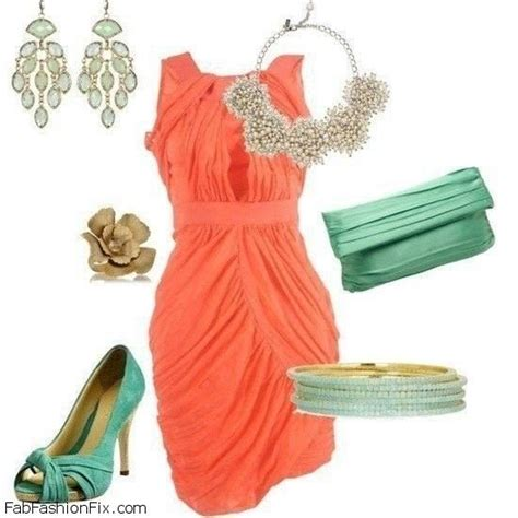 style guide 6 chic ways to wear coral and turquoise colors this summer fab fashion fix