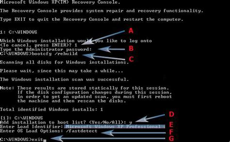 how to fix invalid boot ini