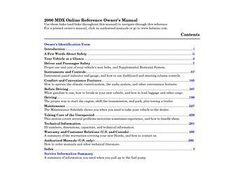 download car manuals pdf free 2008 acura mdx engine control download 2006 acura mdx owner s manual pdf 311 pages