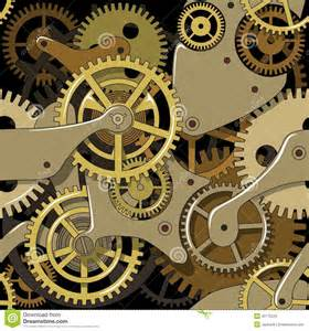 gears texture style steam punk stock vector image 40175226