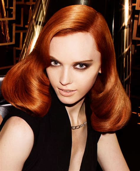 hair coloring ginger copper express colour bar synergy warwickshire