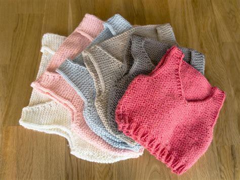how to knit a baby vest easy knitting pattern baby vest by sproglets kits