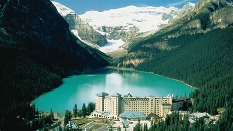 fairmont chateau lake louise  kuoni hotel  banff