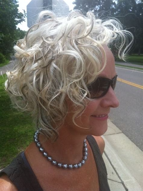 hairstyles curly grey hair silver white hairstyles to try pinterest gray hair