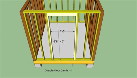 How To Build A Garden Shed Step By Step by Garden Shed Plans Free Howtospecialist How To Build