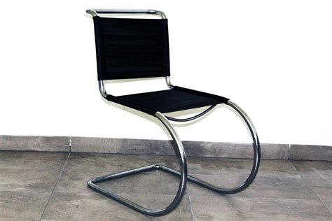 mies van der rohe desk tubular steel chair by ludwig mies van der rohe 1930s for