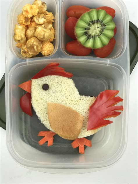 new year bento box new year rooster bento lunch more than your average