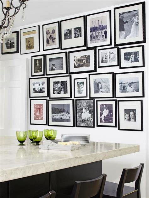 kitchen wall gallery kitchen photo wall transitional kitchen hgtv