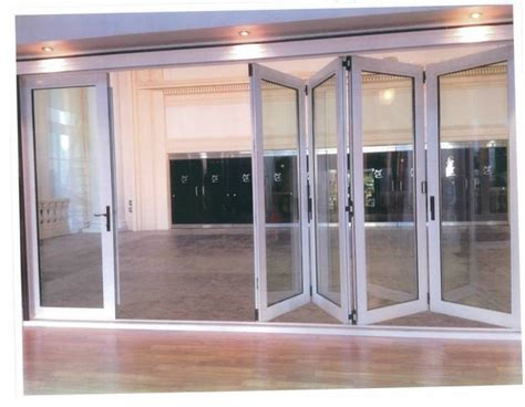 bifold glass doors modern windows and doors
