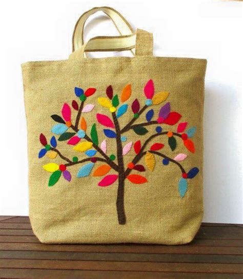 Tote Bag Tas Tangan Bag 2 pin by anika on filt bag felting and cross stitch