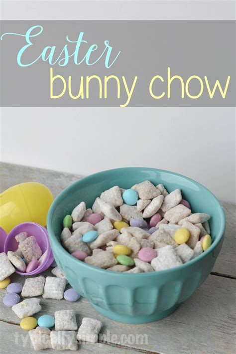 easter puppy chow easter bunny chow typically simple