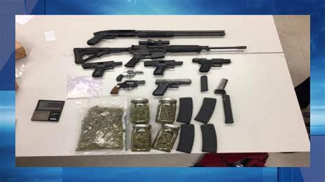 Bakersfield Warrant Search Find Stolen Guns Large Amount Of Drugs In Oildale