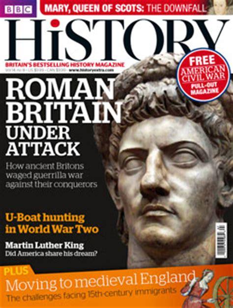 design magazine history news new look for bbc history magazine inpublishing