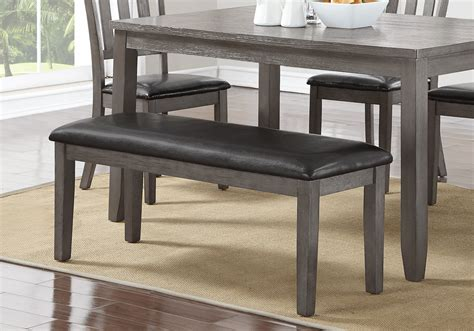 bench overstock cosgrove grey dining bench lexington overstock warehouse
