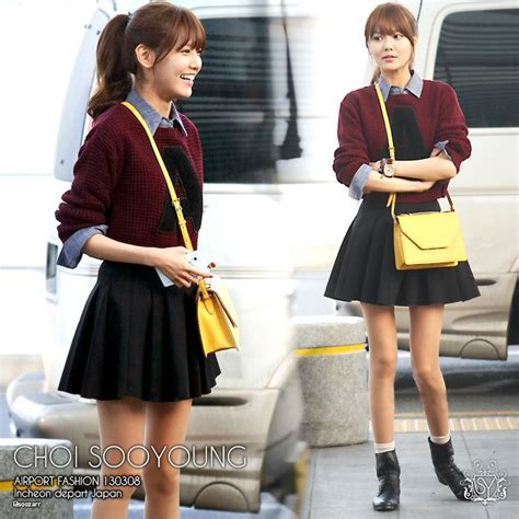Inspired Fashion by Snsd Sooyoung Preppy Style Korean Fashion