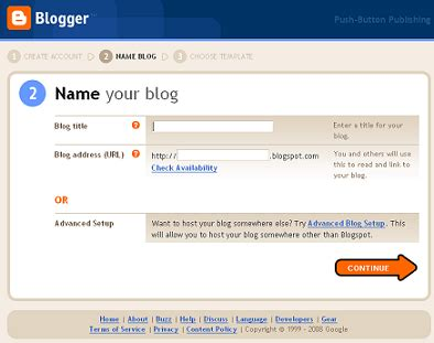 blogger new account how to create accounts how to solve computer probl