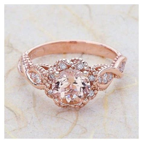 pink ring pink gold wedding rings pixshark com images