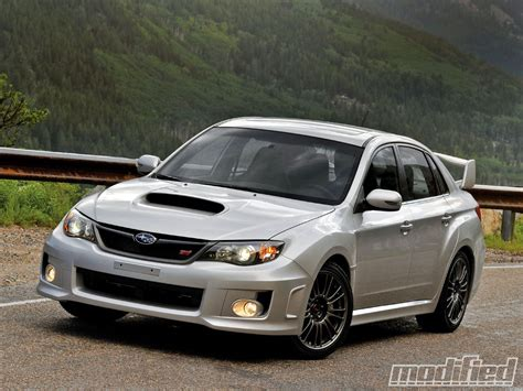 modified subaru impreza hatchback 2011 subaru impreza wrx sti first drive modified magazine