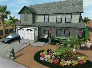front yard landscaping ideas on a budget modern house