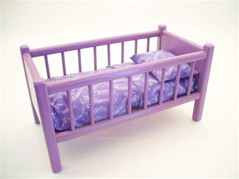 Classic Doll Bed Wood Doll Bed American Doll Bed Doll Baby Dolls Cribs