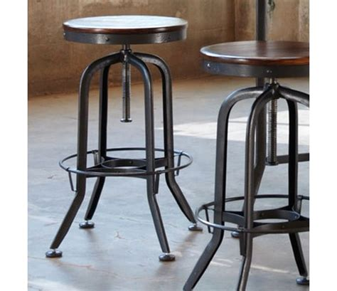 vintage bar stools hashleich vintage bar stool industrial strength with adjustable height by vint8892 bar stools