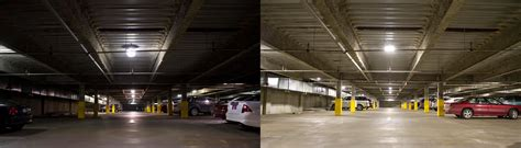 Parking Garage Lighting Fixtures Dialight Corporation Dialight Led Low Bay Fixtures Provide A Clever Lighting Solution For